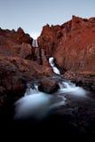 Reykholar Wasserfall Stockbilder