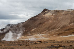 Reykjahlid, Iceland Royalty Free Stock Images