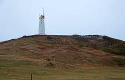 Reykjanes fyr Fotografering för Bildbyråer