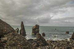 Reykjanes IJsland royalty-vrije stock afbeeldingen