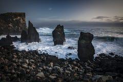 Reykjanes Islandia Imagenes de archivo