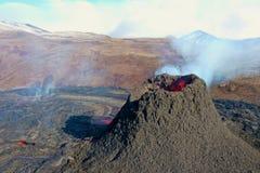 Reykjanes peninsula has fantastic landscape and a new volcano activity.