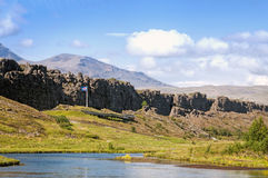 The Reykjanes Ridge, Iceland Stock Image