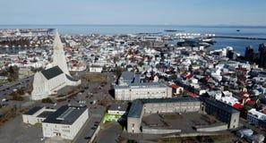 Reykjavik overwiev and Hallgrimskirkja