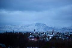 ReykjavÃk地平线 免版税图库摄影