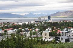 ReykjavÃk, Islandia Foto de archivo