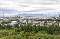 ReykjavÃk, Islandia Imágenes de archivo libres de regalías