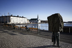 reykjavik Royaltyfria Foton