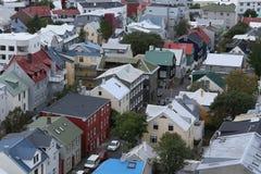 reykjavik Arkivbild