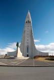 Reykjavik. Church of Hallgrimskirkja, Reykjavik's landmark Stock Images