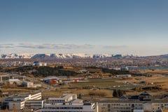 Reykjavik from above Stock Photography