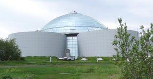 Reykjavik arkitektur royaltyfri fotografi
