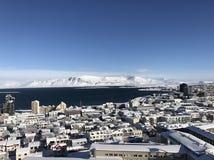 Reykjavik blanco imagenes de archivo