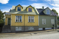 Reykjavik buildings Royalty Free Stock Photo