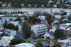 Reykjavik, capitale dell'Islanda Fotografie Stock Libere da Diritti