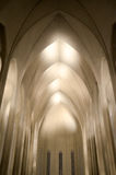 Reykjavik Cathedral, Iceland. The interior of Hallgrims Church, Iceland Stock Photo