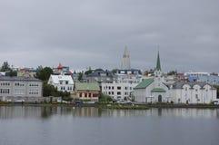 Reykjavik church Royalty Free Stock Image