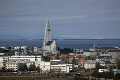 Reykjavik city Royalty Free Stock Image