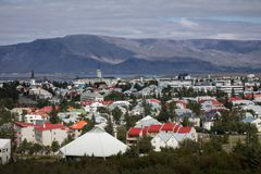 Reykjavik city Royalty Free Stock Image
