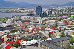 Reykjavik city Stock Photo