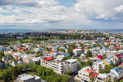 Reykjavik city, Iceland. Stock Photos