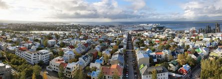 Reykjavik city Royalty Free Stock Photos