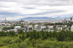 Reykjavik city Stock Image