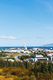 Reykjavik city view, Iceland Stock Images