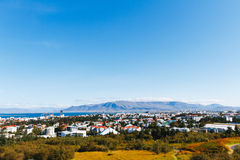 Reykjavik city view, Iceland Royalty Free Stock Photos