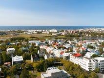 Reykjavik cityscape Stock Image