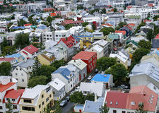 Reykjavik cityscape Royalty Free Stock Photography