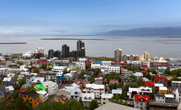 Reykjavik cityspace Stock Photos