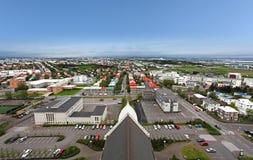 Reykjavik cityspace Stock Photography