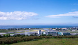 Reykjavik domestic airport Royalty Free Stock Photography