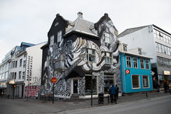 Reykjavik downtown Stock Images