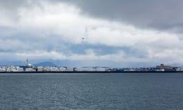 Reykjavik du bateau Image libre de droits