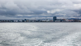 Reykjavik du bateau Image stock