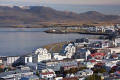 Reykjavik em Islândia fotografia de stock