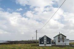 Reykjavik gränsmärken, Island Arkivfoton