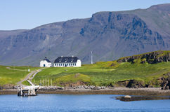 Reykjavik hamn Arkivbilder