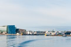 Reykjavik harbour, Iceland Royalty Free Stock Image