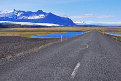 Reykjavik highway Royalty Free Stock Photo