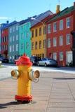 Reykjavik, Iceland. Colorful down town Reykjavik, Iceland royalty free stock photo