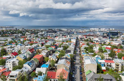 Reykjavik, Iceland. Royalty Free Stock Photo