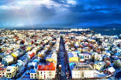Reykjavik, Iceland royalty free stock photography