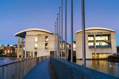 REYKJAVIK, ICELAND/NOVEMBER 01,2017: Здание муниципалитет на утре Стоковая Фотография