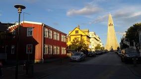 Reykjavik Iceland Old City royalty free stock photos