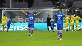 World Cup 2018 Qualifying: Iceland v Ukraine in Reykjavik Royalty Free Stock Image