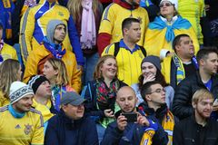 World Cup 2018 Qualifying: Iceland v Ukraine in Reykjavik Stock Photography
