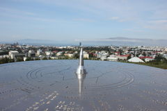 Guided view on Reykjavik, Iceland Stock Photography